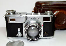 35mm Fotoapparat Sucher-Kamera Zeiss Ikon Contax II RF-camera Sonnar 2/50, 1936
