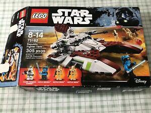 Incomplete LEGO Star Wars Set 75182 Republic Fighter Tank