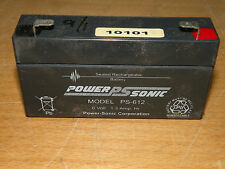 Power-Sonic PS-612 6 Volt 1.3 AH Battery
