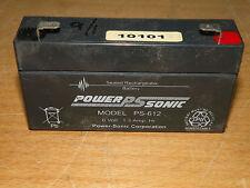 Power-Sonic PS-612 6 Volt 1.3 AH Battery