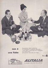 Pubblicità anni 60 ALITALIA non è una fiaba 1960 aeroplano airlines