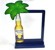 Corona Bier USA Tischaufsteller Menü Speisekarten Halter Ständer Flasche Palme