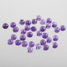 Amatista/redonda 6mm Cabujón/ púrpura-violeta/ (CAJA)