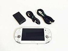 PlayStation Vita 3G / Wi-Fi Model Crystal White PCH-1100 AB02 JP game Sony F/S