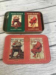 VTG 1999 2 Deck Coca Cola Christmas Playing Cards