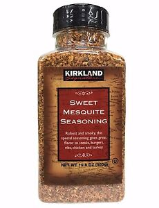 Kirkland Signature Sweet Mesquite Seasoning 19.6 OZ (555g)
