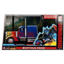 Jada Hollywood Rides Transformers Diecast Optimus Prime Blue 1:24 30446