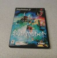 Summoner (Sony PlayStation 2, 2000)  COMPLETE THQ FAST SHIPPING   PS2