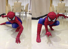 Spiderman costume Kid and Adult Christmas cosplay spider hero suit Hight Qualit!