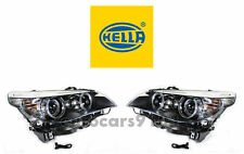 New! BMW Pair Set of Left and Right Xenon Headlights Hella