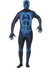 """Disfraz de rayos X, Segunda Piel Lycra Traje de cuerpo completo, Halloween Vestido de fantasía, 38"""" -40"""""""
