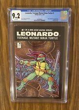 TEENAGE MUTANT NINJA TURTLES LEONARDO #1 (W/P) (12/86) CGC 9.2 NEW CASE!
