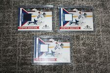 DEVAN DUBNYK 2010-11 PANINI ALL GOALIES STOPPER SWEATERS PATCH LOT 3 COLORS