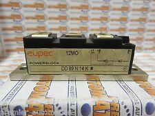 EUPEC, DD89N14K, POWER MODULE, 89AMP, 1400V, DUAL-DIODE (WITHOUT SCREWS)