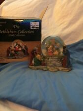 Bethlehem Collection 2000 Musical Nativity Water Globe