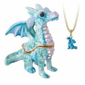 Hidden Treasures Secrets Dragon Trinket Box