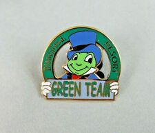 Disney Disneyland Pin - Green Team - Jiminy Cricket - Cast Member - Environment