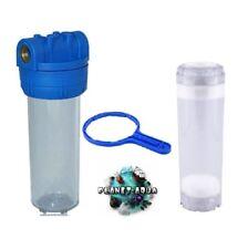 """Filtergehäuse 10 Zoll 3/4"""" LEERFILTER FILTERSCHLÜSSEL Osmoseanlage Wasserfilter"""