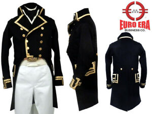 NAPOLEONIC French Revolution General Miranda Military Jacket Frock Coat