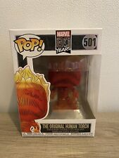 FUNKO Pop Marvel 80 Years #501 THE ORIGINAL HUMAN TORCH Vinyl Figure Bobblehead