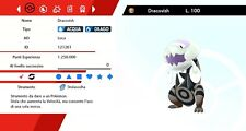 Dracovish Ultra Shiny Battle Ready Pokemon Sword - Shield, Pokemon Spada - Scudo