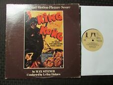 1975 Max Steiner ‎– King Kong - The Original Motion Picture Score LP VG+/GD+