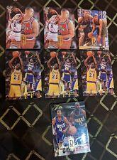 1994-95 Fleer Flair (7) Rookie Lot: Glenn Robinson, Juwan Howard, Jones, Rose