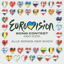 Eurovision Song Contest 2005-Kiew Marian van de Wal, Ledina Celo, Globa.. [2 CD]