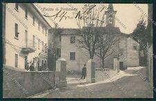 Verbania Intra Piazza di Piedimonte cartolina EE7502