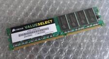 Mémoires RAM DDR SDRAM Corsair, 512 Mo par module