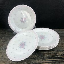 "ONE Mikasa Precious A7059 Pink 6.5"" Bread Plate Japan Mint China Vintage"
