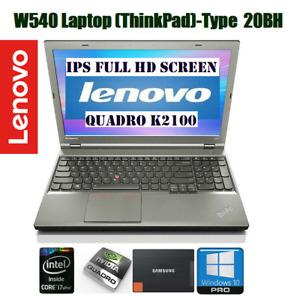 ThinkPad W540 Mobile Workstation· IPS FULL HD 15.6·128GB SSD·i7·12GB RM· Nvidia