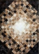 NEW LARGE Cowhide Rug Patchwork Cowskin Cow Hide Leather Carpet.