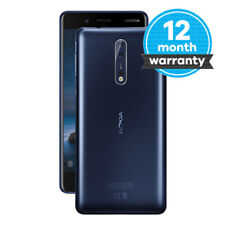 Nokia 8 - 64 GB - Tempered Blue (Unlocked) Smartphone Very Good Condition