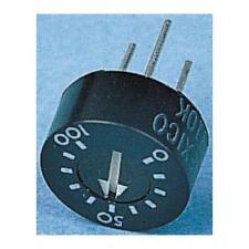 1 x bi technologies 93PR-10K, cermet trimmer résistance, 10kΩ ± 10% 1W ± 100ppm/° c t