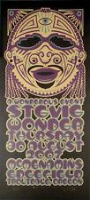 Stevie Wonder Tribal Portrait Signed Silkscreen Poster by Gary Houston