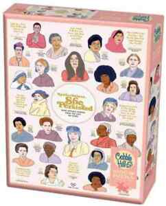 NEW! Nevertheless She Persisted 1000 piece jigsaw puzzle 680mm x 490mm + poster
