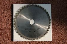 Lame carbure scie circulaire Spitec 200x30mm 24 dents