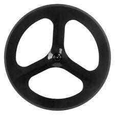 70mm Tri Spokes Carbon Wheel Front Wheel Road Bicycle Time Trial 3 spoke Wheel