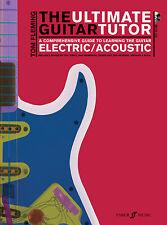 The Ultimate Guitar Tutor Pop Rock Guitar Tab Learn Play FABER Music BOOK & CD