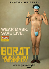 Borat Subsequent Movie Film Poster 2020 Art Print Wall Home Room Decor