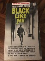 Black Like Me, John Howard Griffin, Signet Paperback, 1961, 37th Printing