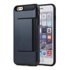 CLIP Case iPhone 5 6 7 Plus Samsung Credit Card Storage Slide Wallet Slim ID