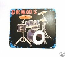 NEW Drum Kit Design Computer Mouse Mat Home Music Gifts