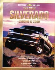 2001 01 Chevrolet Silverado 2500HD & 3500 brochure