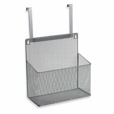 .ORG Metal Mesh Kitchen Cabinet Organizer Hung Over Cabinet Door or Mounted