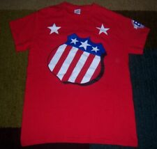 Rare Style ROCHESTER AMERICANS/AMERKS 60th Anniverary THROWBACK JERSEY Shirt S l