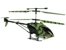RC Helicopter Camo Hercules Unbreakable 3.5CH RTF Radio Control with LED Lights