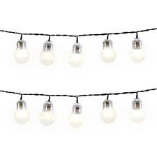 50 LED Warm White Retro Bulb Lights Indoor Outdoor String Light Bulbs