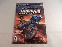 Downhill Domination (Sony Playstation 2, PS2) RARE DEMO, NEW! #G354